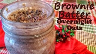 Overnight Brownie Batter Oats