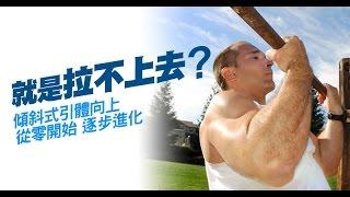 引體向上-入門健身教學01:背部訓練-適合任何程度的初學者
