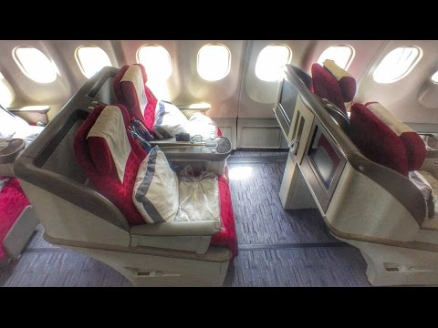Flying to KATHMANDU! Qatar A330 Business Class