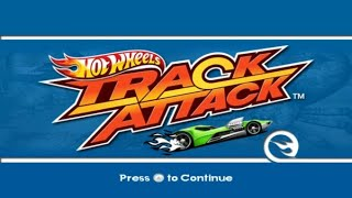 Hot Wheels Track Attack Wii Gameplay