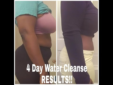Water Fasting. 4 Day Cleanse (It Works!)