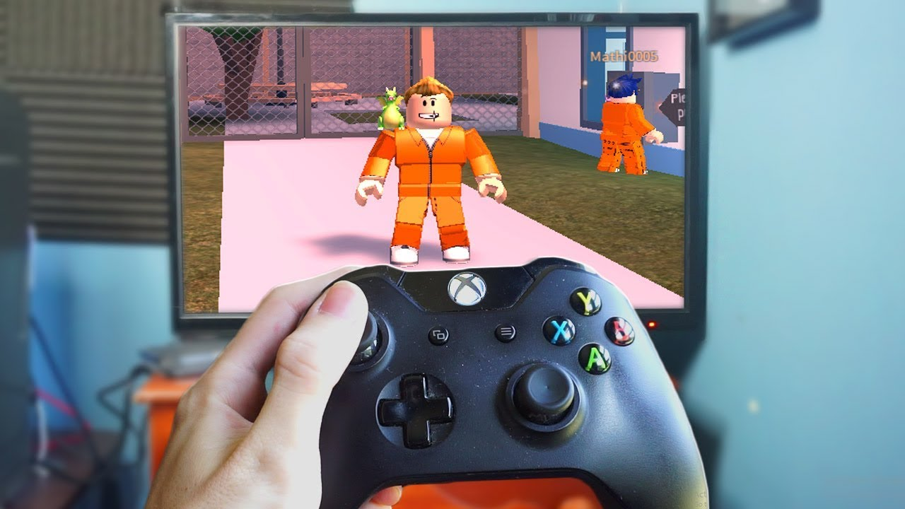 Playing Jailbreak On The Xbox One Roblox Youtube