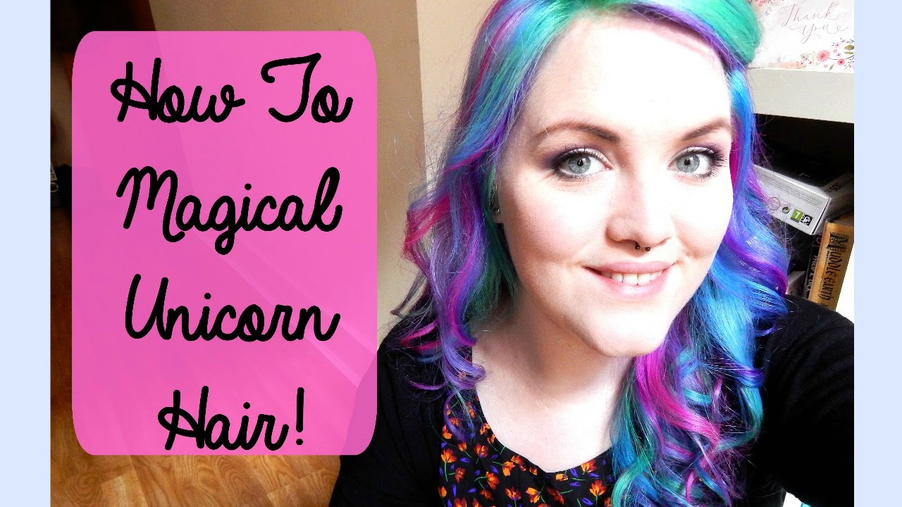 Diy My Little Pony Magical Unicorn Hair Colour The Corner Of Craft
