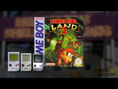 Gameplay : Donkey Kong Land 2 [Gameboy]