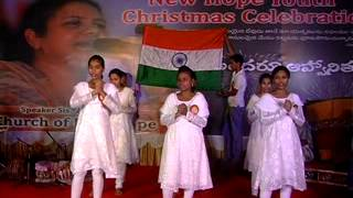 pray for india telugu christian dance