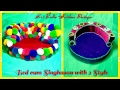 Bed cum Singhasan with Modern and Traditional 2 different style, Night Bed / Singhasan for Bal Gopal