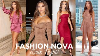 FASHION NOVA TRY ON HAUL 2021 | DATE NIGHT/GOING OUT DRESSES | BEAUTYBEY