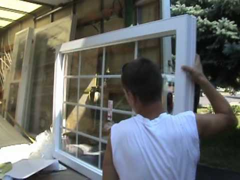 How to do replacement of bay window (Retrofit instalation)