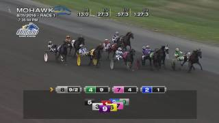 Mohawk, Sbred, Aug. 11, 2016 Race 1