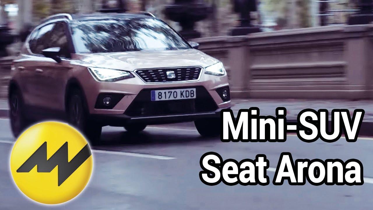 mini suv seat arona 2018 test in barcelona youtube