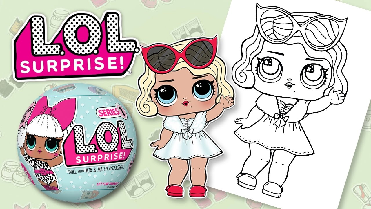 LOL SURPRISE DOLL LEADING BABY   COLORING & FUN SURPRISES - YouTube