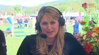 Live Show Jumping Leg 1 Chatsworth 2018 Event Rider Masters