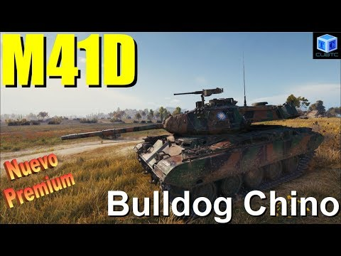 World of Tanks Español: Nuevo premium | M41D, bulldog Chino thumbnail
