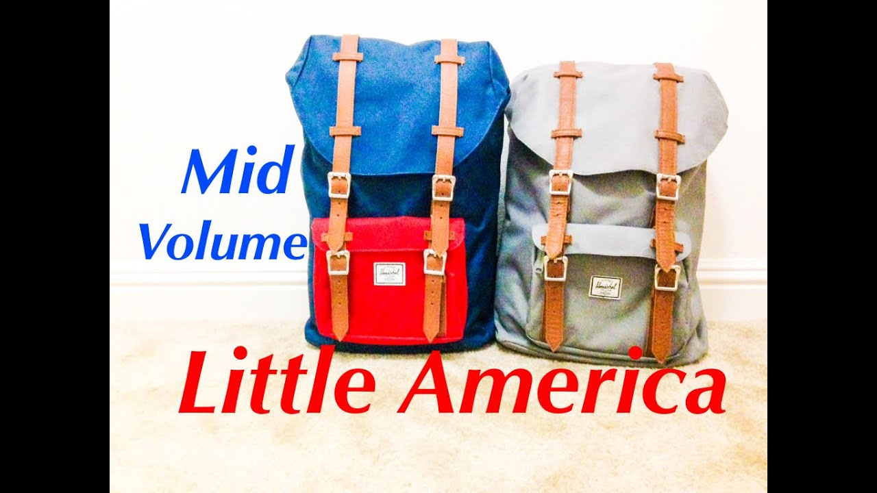 688fa664c Herschel Little America Mid-Volume: One Year Review - YouTube