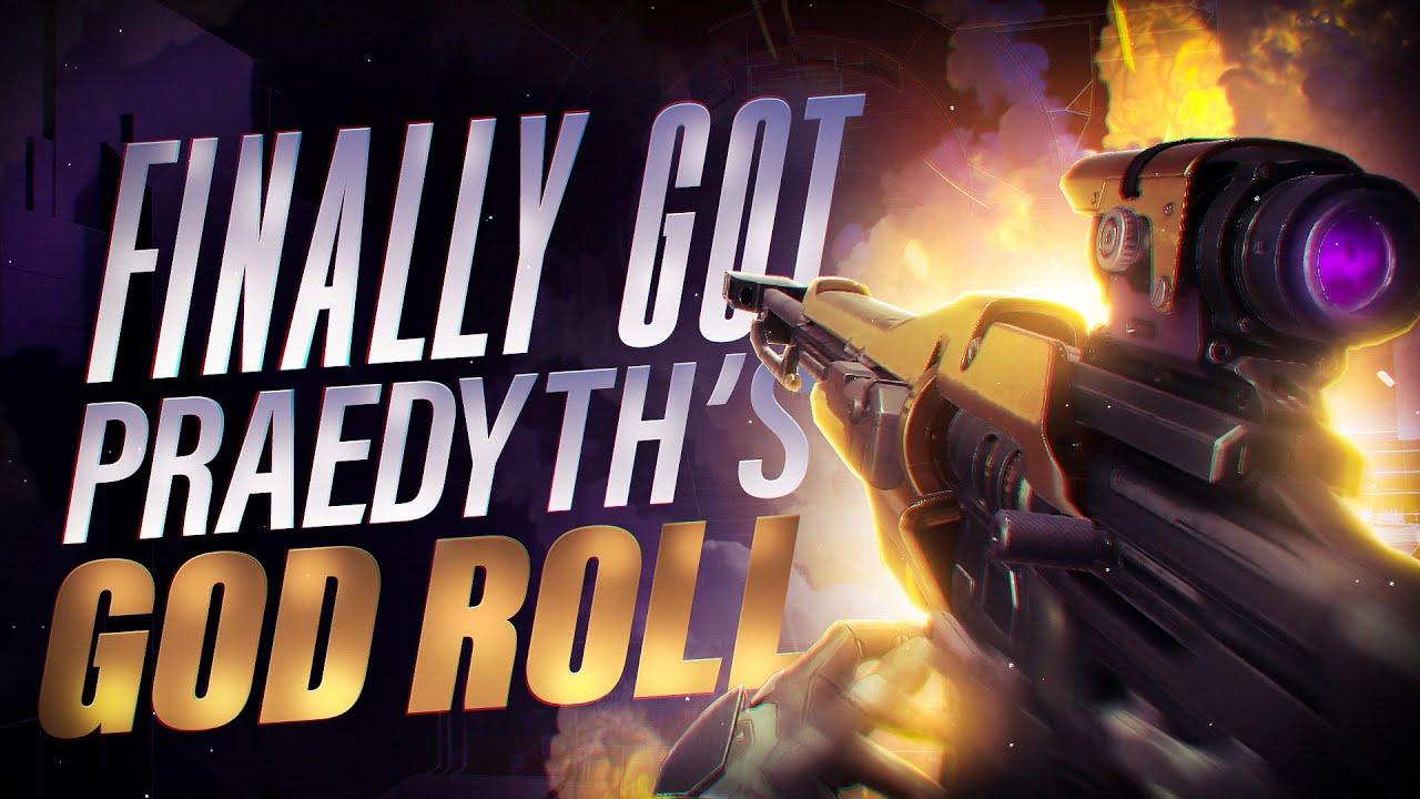 I Finally got the Praedyth's Revenge God Roll sniper but it's still meh...