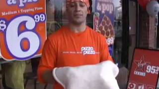 World Champion Pizza Spinner