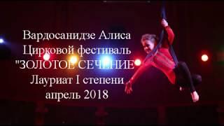 ВРЕМЯ ШОУ воздушные ремни 2018. Фестиваль циркового искусства. Алиса Вардосанидзе.