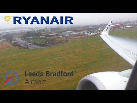 FLYING FROM YORKSHIRE'S AIRPORT: Ryanair Boeing 737, Leeds Bradford To Gran Canaria *FULL FLIGHT*