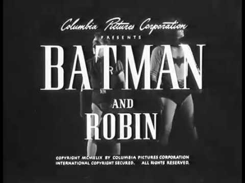 Batman And Robin (1949) Episode 2 Tunnel Of Terror