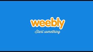Как создать БЕСПЛАТНЫЙ сайт с помощью WEEBLY