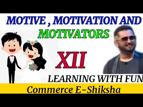 What is the difference between motive , motivation and motivators || motivation|| directing || 12th