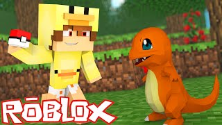 ROBLOX POKEMON - BABY DUCK WINS HIS FIRST BATTLE!!