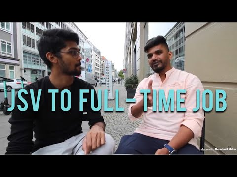 Automation Tester Job In Munich : From JSV To Full-Time Job In Germany
