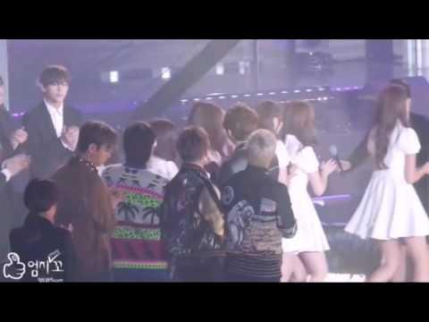 Taehyung (BTS) x Yuju (GFRIEND) Moments