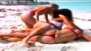 Пляж, девушки, приколы