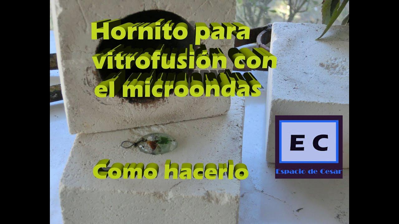 Horno para vitrofusion con microondas como se hace youtube - Como se hace horno de lena ...