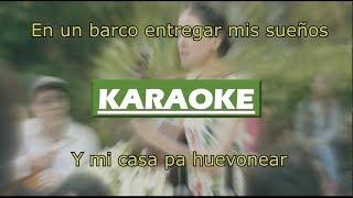 Mi Tierra Veracruzana - Natalia Lafourcade (KARAOKE/LETRA)