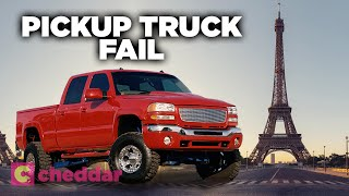 Why There Are So Few Pickup Trucks In Europe - Cheddar Examines