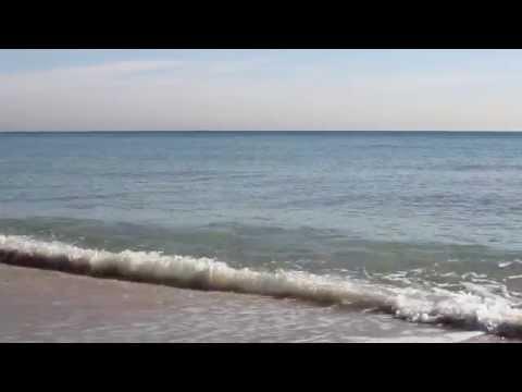 Calm Low Tide Ocean Waves - 25 Min Video - Relaxing Peaceful Soothing Meditation Sleep