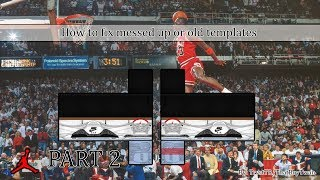 ROBLOX: How to fix messed up or old templates | Part 2