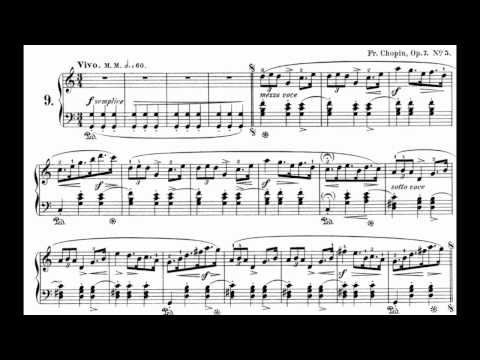 Chopin Mazurka Op.7 No.5 By Arthur Rubinstein (28/154)