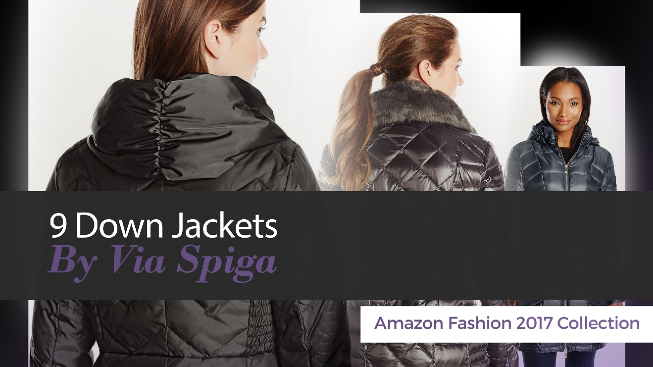 d602224fd 9 Down Jackets By Via Spiga Amazon Fashion 2017 Collection