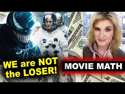 Box Office for Venom 2nd Weekend Drop, First Man