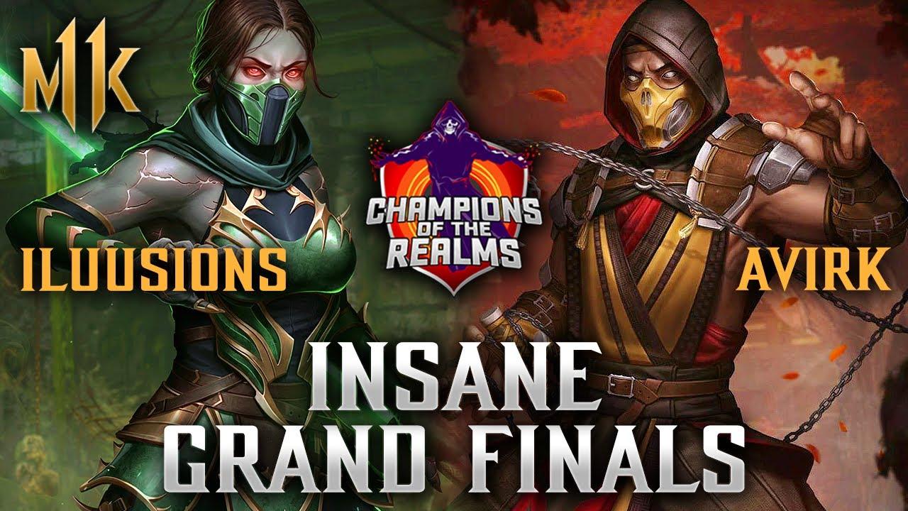 Avirk vs Iluusions - INSANE GRANDFINALS! - Champions of the Realms: Week 3 GRANDFINAL - MK11