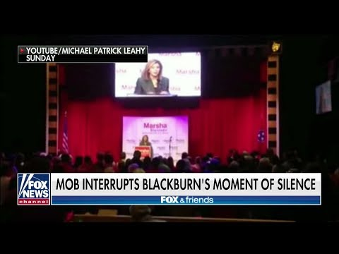 Protesters Interrupt Moment of Silence for Pittsburgh Synagogue Victims at Blackburn Rally