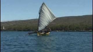 Mau Piailug Sails Restored Micronesian Canoe Hawaii