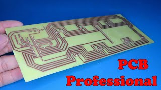 How to make a professional pcb at home