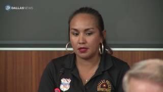 Wife of slain officer Patrick Zamarripa talks