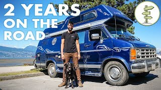2 Life Changing Years Living in a Van Full Time as Digital Nomad - Micro Documentary