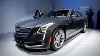 2016 Cadillac CT6 - 2015 New York Auto Show