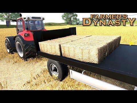 Zbieranie kostek - Farmer's Dynasty | #28