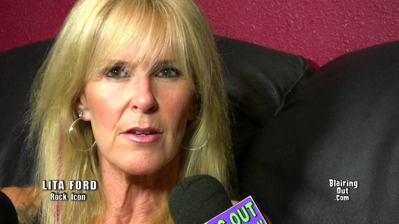 Lita Ford Talks With Eric Blair About Her New Cd Quot Living