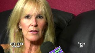 "LITA FORD talks with Eric Blair about her new cd ""Living Like A Runaway"""