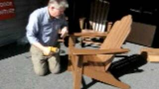 Adirondack Chair Assemblymovie.avi
