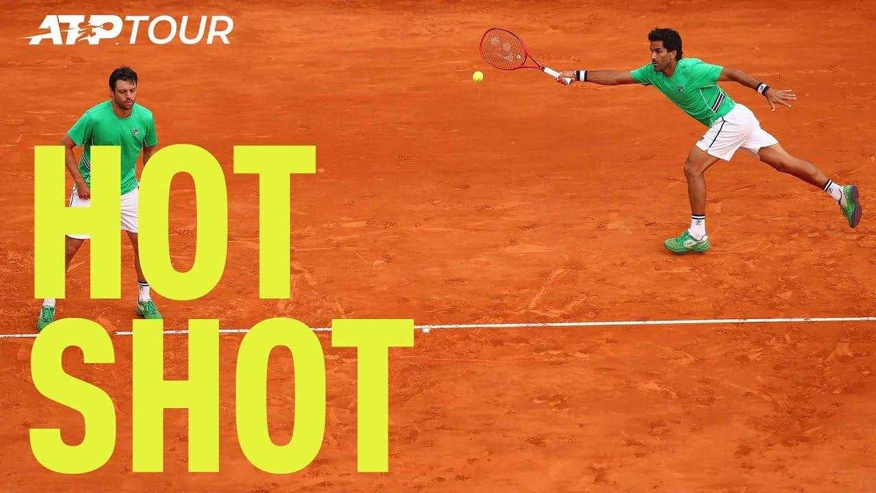 Hot Shot: Zeballos & Gonzalez Play Incredible Defence | Monte-Carlo 2019