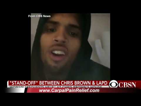 Breaking News: Standoff at Chris Brown's mansion as he posts rant on Instagram about police